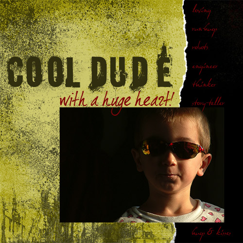 cool dude (left)