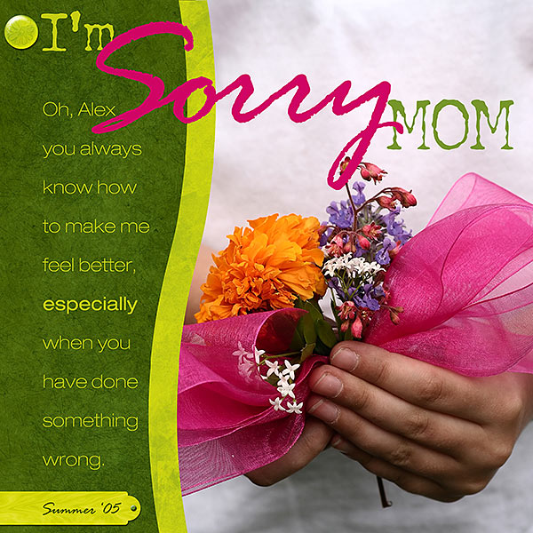 I'm Sorry Mom