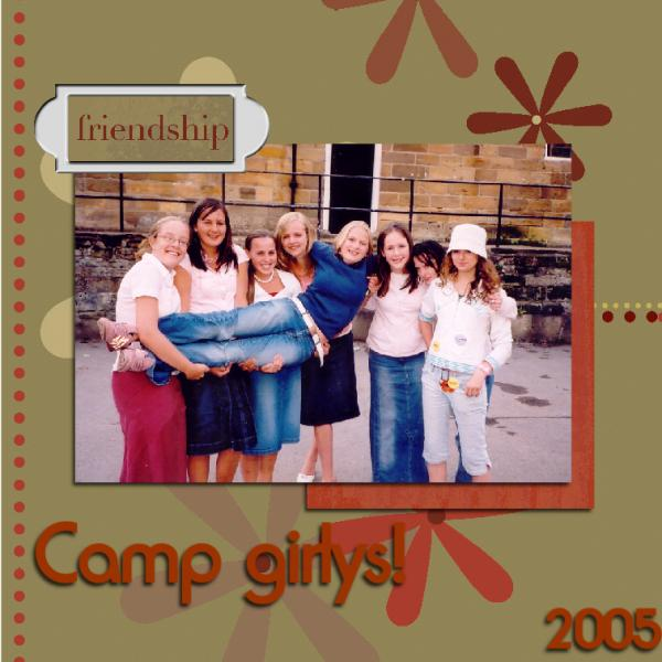 Camp girlys!