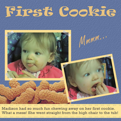 First Cookie