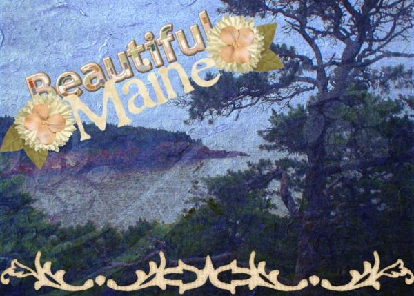 ATC Class- Beautiful Maine