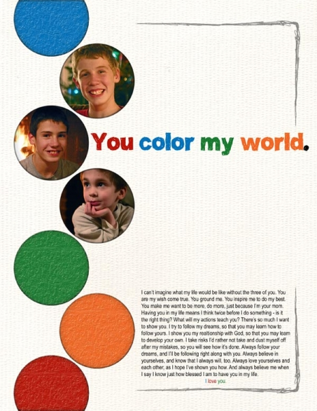 You Color My World - NL