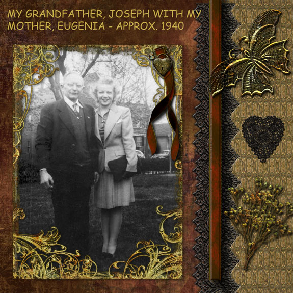 My Grandfather with my Mother