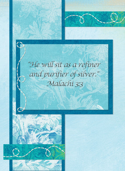 Malachi 3:3 - Front of Card