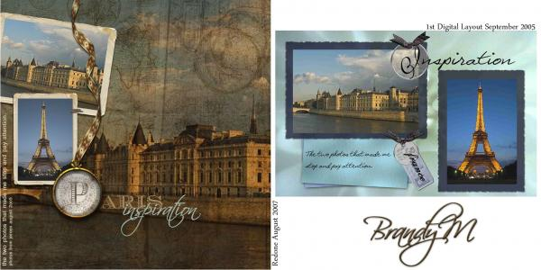 "Your 1st Scrapbook Layout Ever ""My Redo!"""