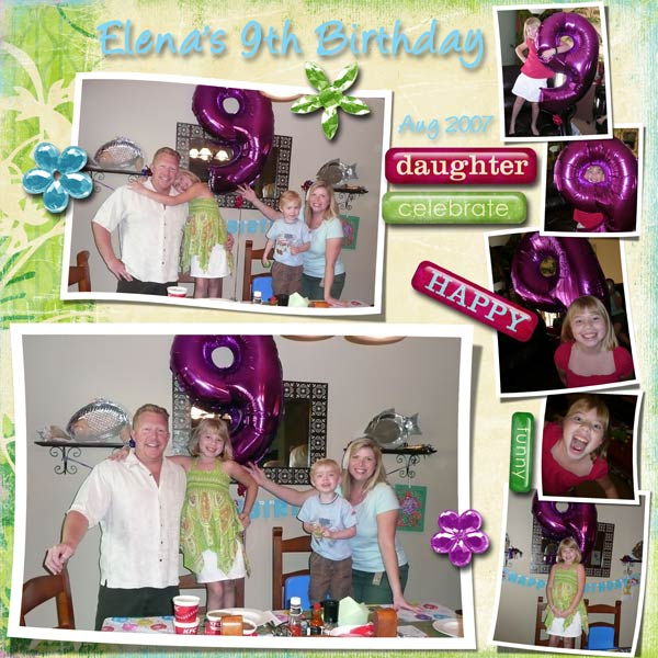 Ellie's B-day page 1
