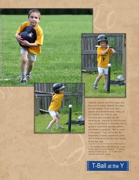 T-Ball at the Y (NL)