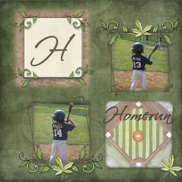 H is for Homerun
