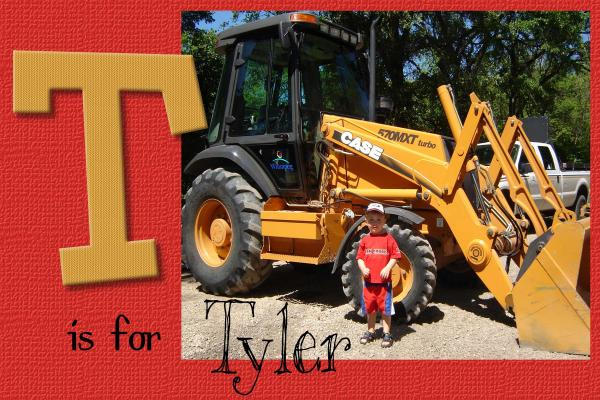 T is for Tyler