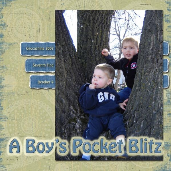 A Boy's Pocket Blitz - Geocache