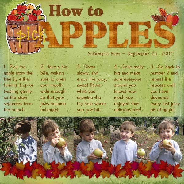 How to Pick Apples