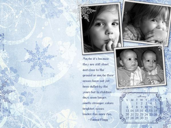 January 08 Desktop