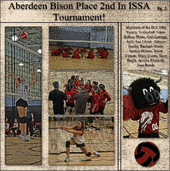 Volleyball Newspaper Highlights Pg 2 - All About You - Gallery ...