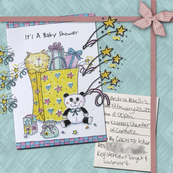 Baby Shower Page