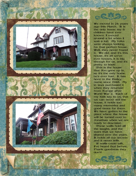 The Heritage of a Home