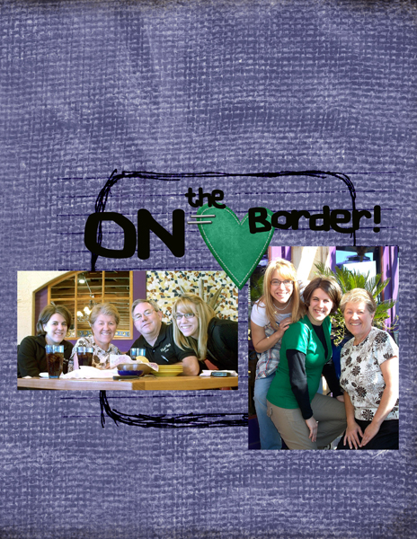 On the border right