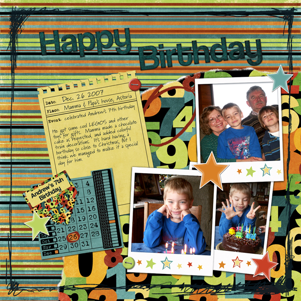 Andrew 7th Birthday (right side)