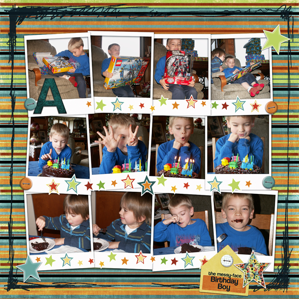 Andrew 7th Birthday (left side)