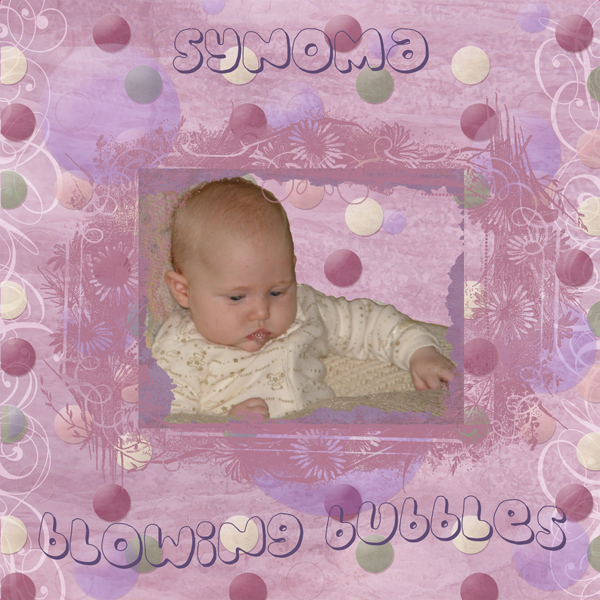 Synoma Blowing Bubbles 032506