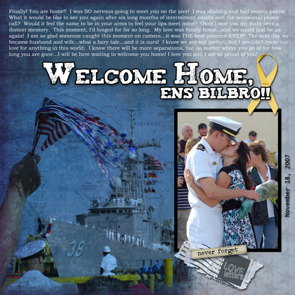 Welcome Home Pg 1