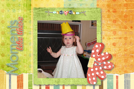 Hailey's Easter Bonnet