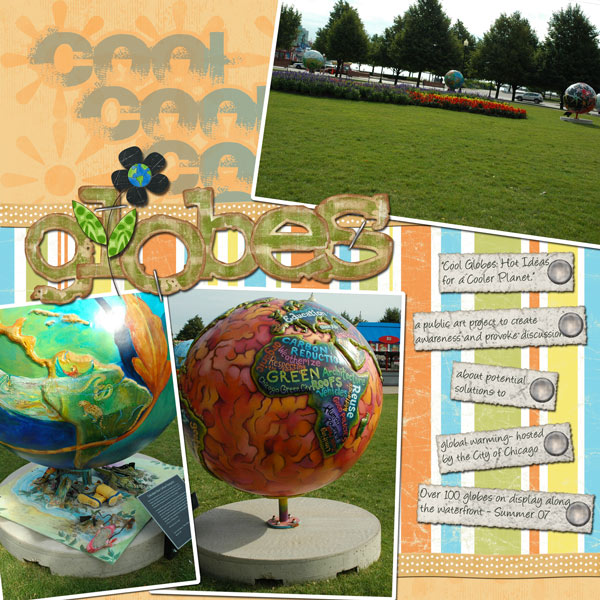 Cool Globes for Earth Day