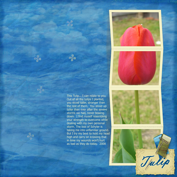 Tulip Strength - 4-22 Freebie Challenge