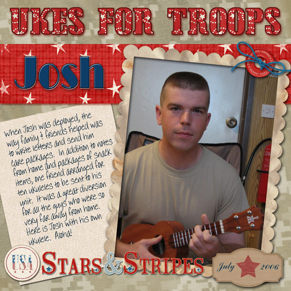 Ukes For Troops