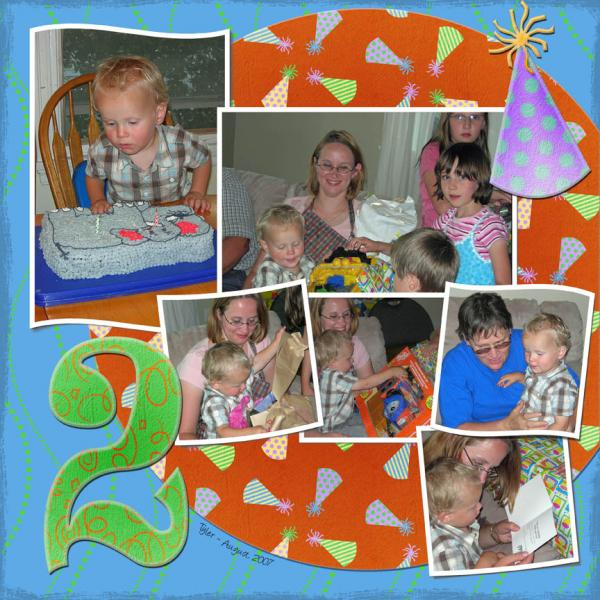 Tyler's 2nd birthday