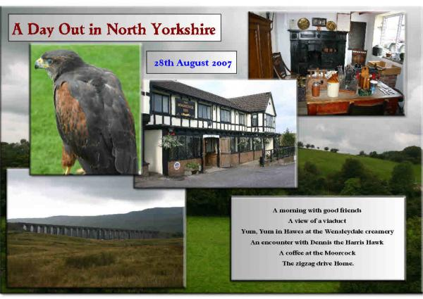 A Day Out in North Yorkshire