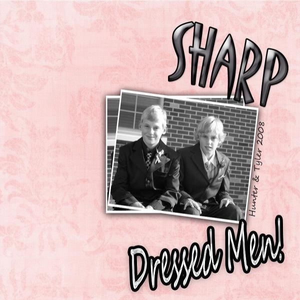 Sharp Dressed Men