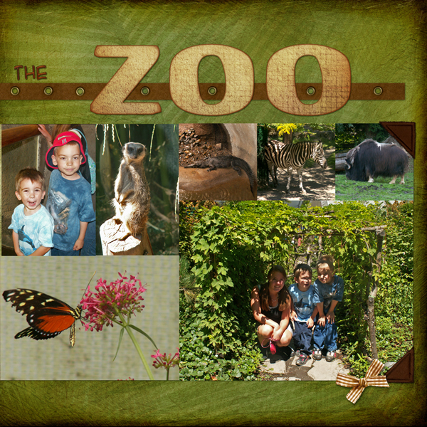 A Day at the Zoo RIGHT