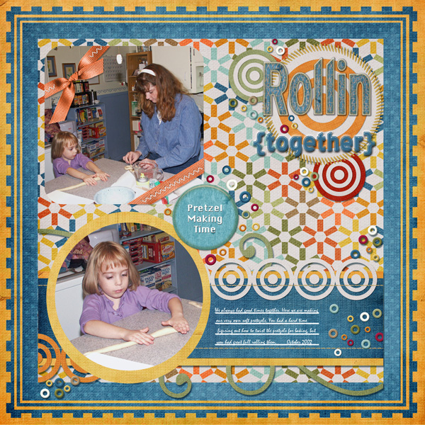 Rollin' together -- first digi layout without tutorial