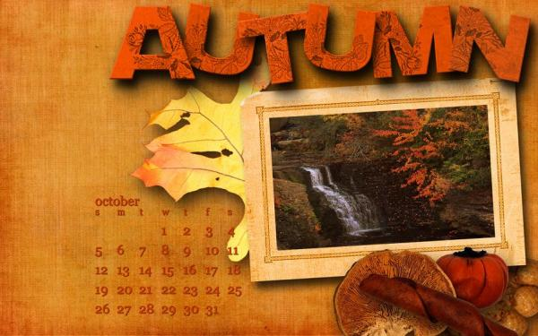 Desktop crop for October