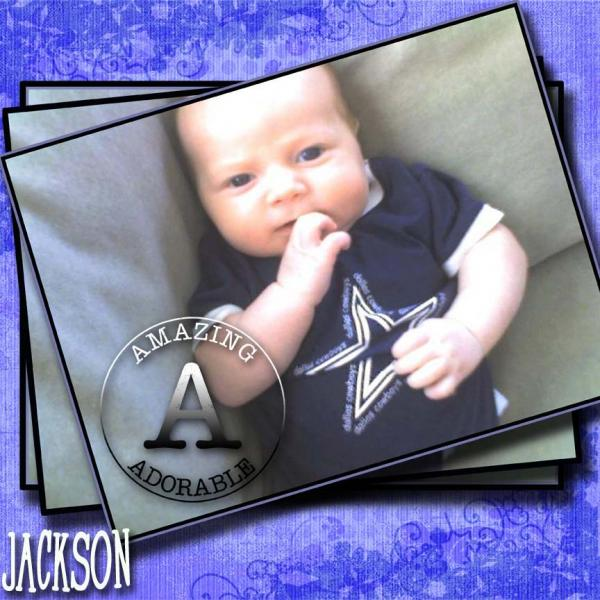 my new great nephew jackson