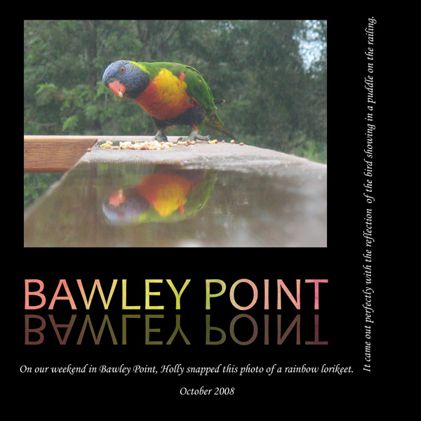 Holly's best pic - Bawley Point