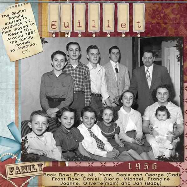 The family 1956