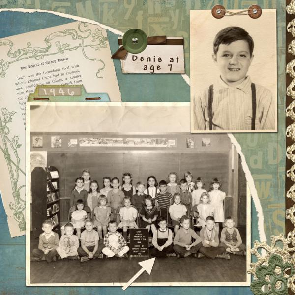 Young Denis - My father