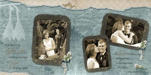 Wedding Double Page