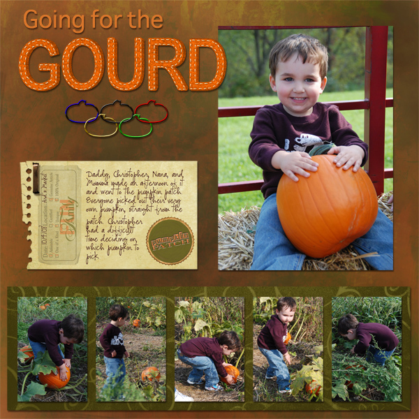Going for the Gourd