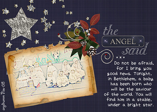 The Angel Said....