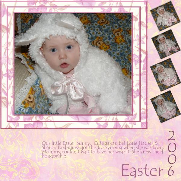 Our Little Easter Bunny 2006
