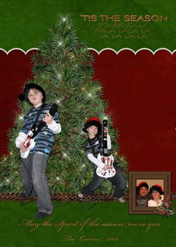Christmas card 1st attempt....
