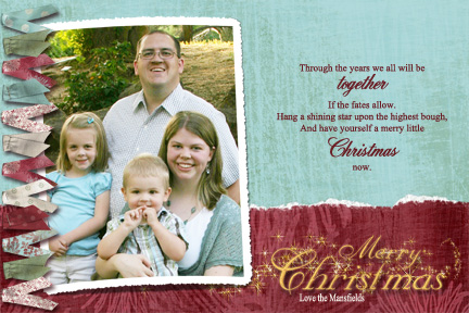 Mansfield Christmas Card 2008