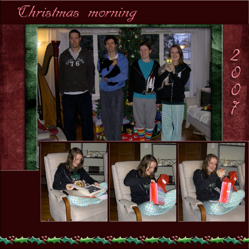 2007 Christmas for Janna