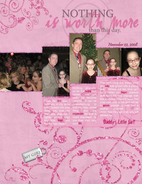 Father/Daughter Dance for Amy Carr