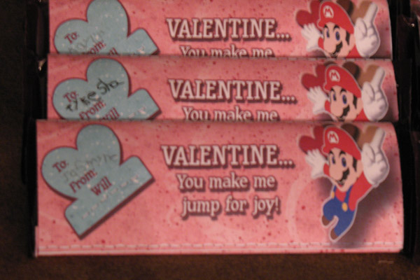 V-Day Candy Bar Wrapper (Girls)