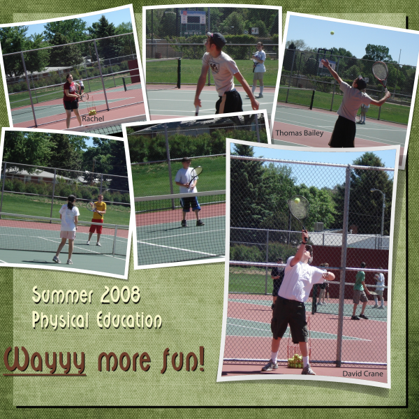 Summer Physical Education 2008