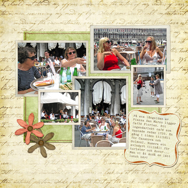 Page 13 - Lunch at Caffé Florian