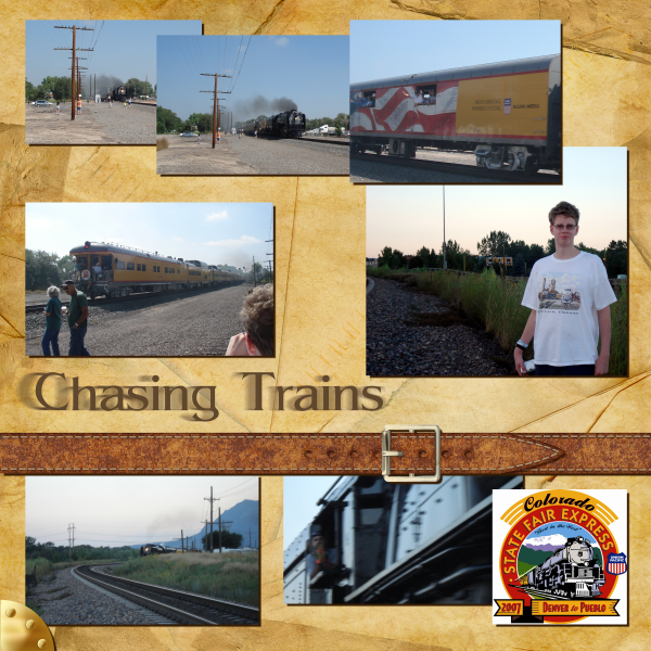 Chasing Trains: Colorado State Fair Express